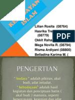 Presentasi Agama Kebudayaan Islam