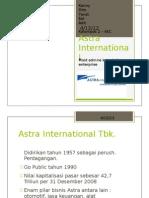 KM Astra Internasional Tbk
