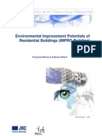 Environmental Improvement Potentials of Residential Buildings