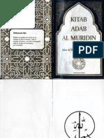 Suhrawardi, Reglas de comportamiento para el novicio sufi (Kitab adab al Muridin) Ansar, edcs. Mex. 1994