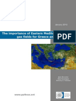 The importance of Eastern Mediterranean  gas fields for Greece and the EU