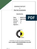 Seminar Report RedHat Virtualization