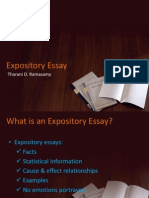 Presentation Expository Writing
