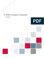 SPSS Complex Samples 17.0