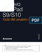 Lenovo IdeaPad S9-S10 UserGuide V2.0 (Spanish)