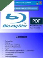 Blu Ray Disc Ppt. Final