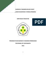 Teknis Budidaya Tanaman Kelapa Sawit