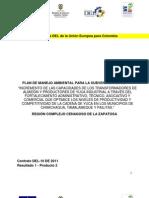 Plan de Manejo Ambiental para el Incremento de las capacidades de los transformadores de Almidón y productores de Yuca industrial