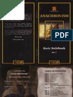 Anachronism Rulebook