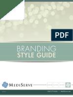Mediserve Branding Style Guide