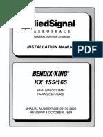 KX155 Install