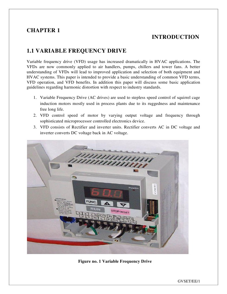 Variable Frequency Drive Power Inverter Rectifier Motor Speed Controller Circuit That Can Be Used For Varying The