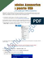 Guia Cargar Lista de Canales Por USB en Azamerica