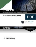RFEM - Funcionalidades Gerais