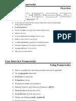 Case Frameworks