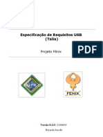 Especificação de Requisitos USB