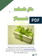 Geschenke für Freunde