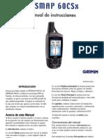 Manual Garmin Gpsmap 60csx Espa Ol Bueno Vale Para 76csx