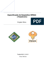 Especificação de Requisitos MPEG4 (Terpsícore)