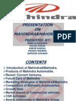 Mahindra&Mahindra