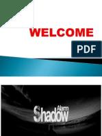 Shadow Alarm ppt by sachin rajak with saurav shekhar