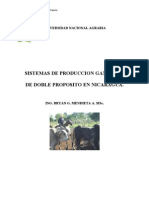 Sistemas de Produccion de Doble Proposito en Nicaragua