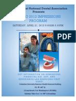 Spring 2012 Impressions Flyer