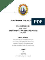 Purifier Bottle Project Report
