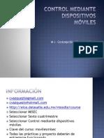 Control Mediante Dispositivos Móviles
