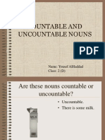 Countable and Uncountable Nouns 1225127990345354 9