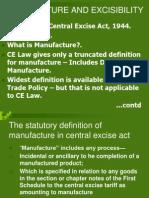 Central Excise Slide