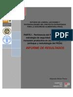 Informe de Resultados Parte i Pertinencia Del Pesa