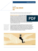 McKinsey What Marketers Say About Working Online