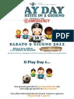 Play Day - Proposta Partnership
