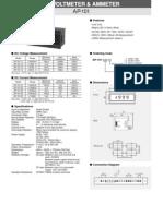 DC Voltmeters Ammeters