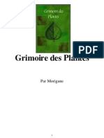 Grimoire Des Plantes