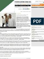 El cantautor Gabriel Miramontes promueve ''Inolvidable'' (27.06.2011) Guadalajara Jalisco - Alejandro Oliveros - El Informador