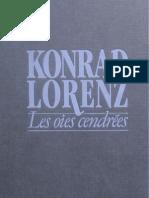 Lorenz-Les Oies cendrées
