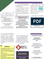 Planfleto Sobre o Naltrexone