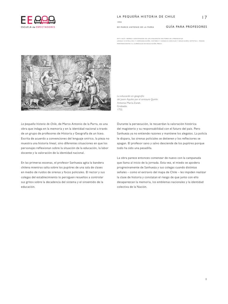 Guia 17 La Pequena Historia de Chile