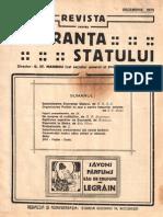 Revista Siguranta Statului, Anul I, Nr. 6