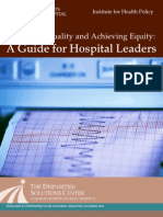Approving Quality and Ache Iving Equity