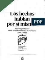 Honduras - Los Hechos Hablan Por Si Mismos