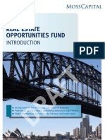 Australian Real Estate Opportunities Fund