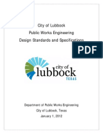 Lubbock Water Manual
