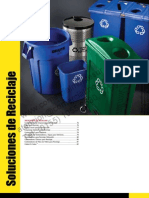 Catalogo Rubbermaid de Reciclaje Pags 74 al 82