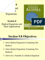 seia2e_0908 Radical Equations and their Applications