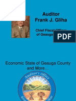 Auditor's Presentation on the Economic State of Geauga County