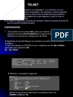 Exposicion Telnet