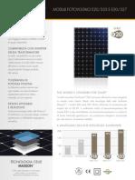 Moduli Fotovoltaici Monocristallini Molto Performanti